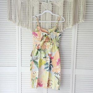 Anthropologie Dresses - Farm Rio Antropolpgie Tropical Shift Dress Cotton
